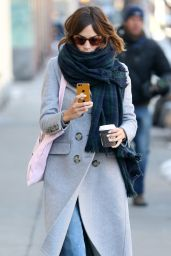 Alexa Chung - Out in New York City, February 2015