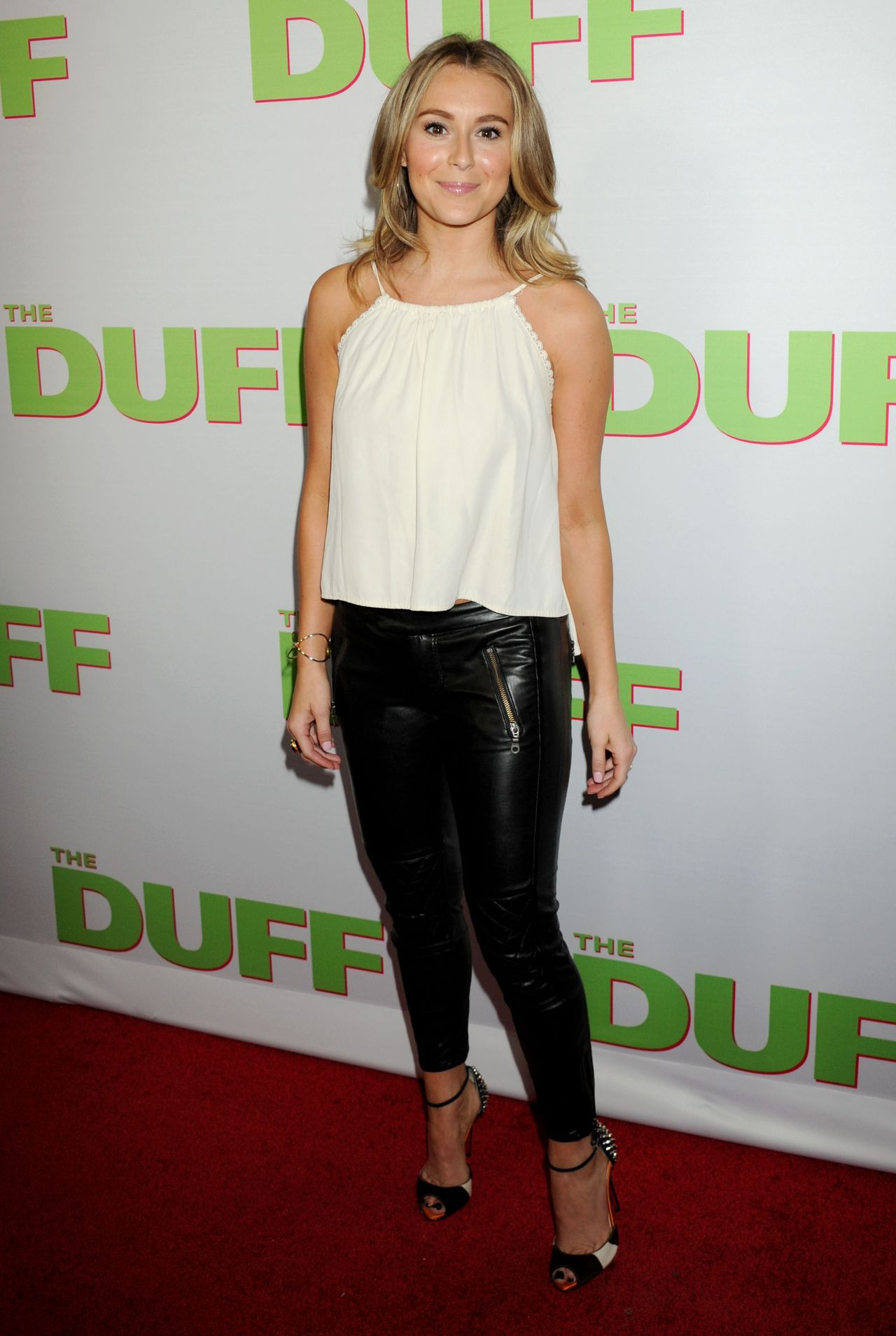 Alexa Vega The Duff Premiere In Hollywood