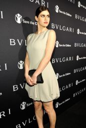 Alexandra Daddario – BVLGARI and Save The Children STOP. THINK. GIVE. Pre-Oscar Event in Beverly Hills