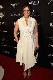 Alyssa Milano - The Maxim Party in Phoenix, January 2015