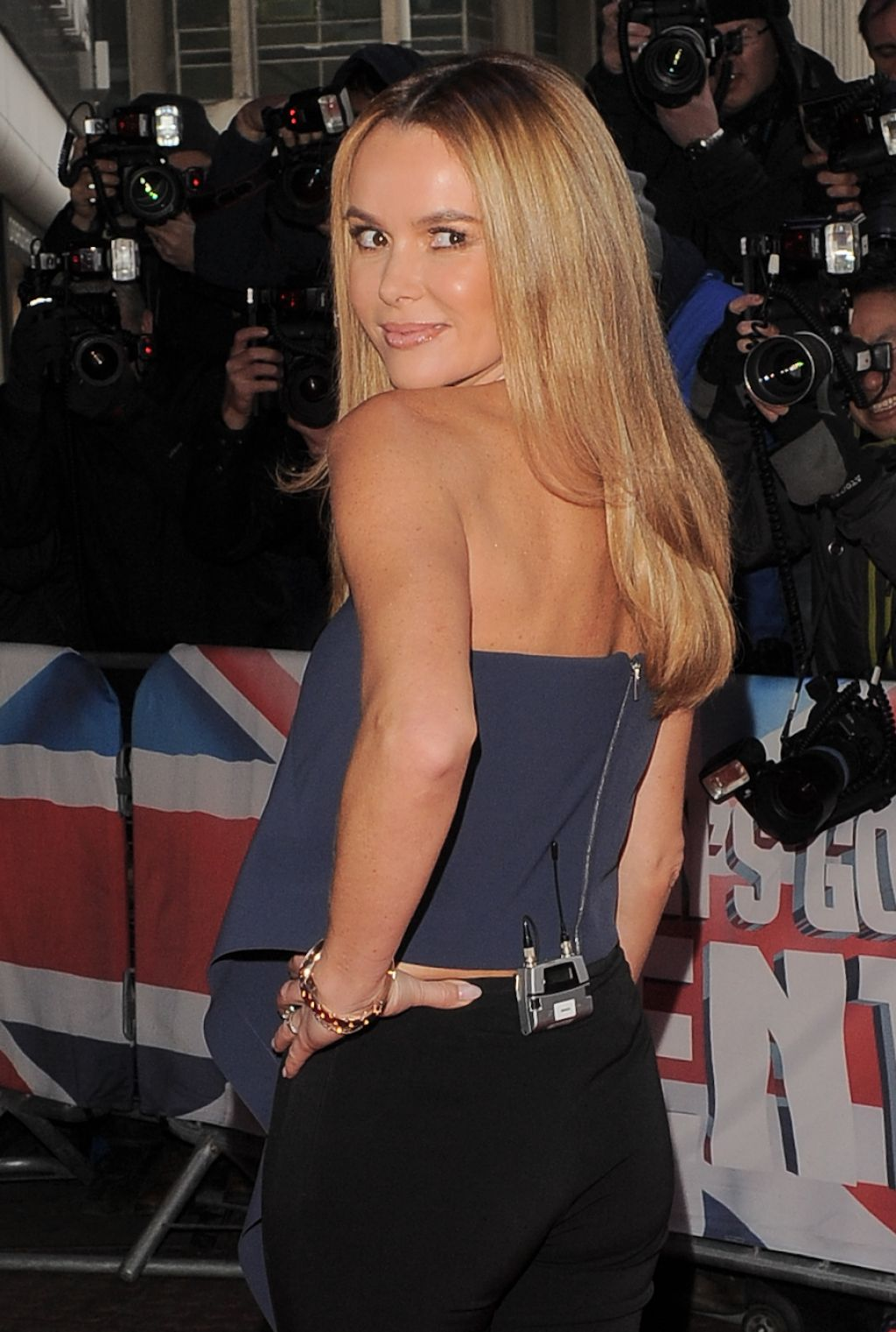 Amanda Holden Britain Got Talent Auditions London February 20 Bikini