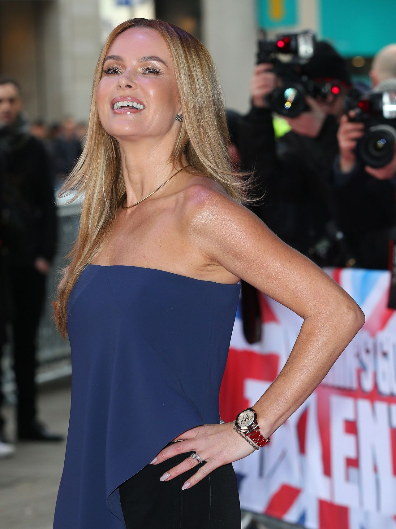 Amanda Holden Britain S Got Talent Auditions In London