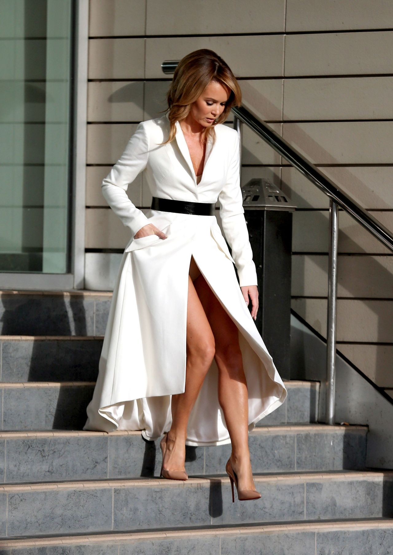 Amanda Holden - Britains Got Talent Auditions In Manchester, January 2015-6159