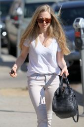 Amanda Seyfried Casual Style - Out in West Hollywood, February 2015