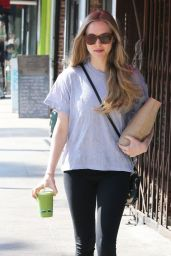 Amanda Seyfried in Leggings - Out in Los Feliz, February 2015