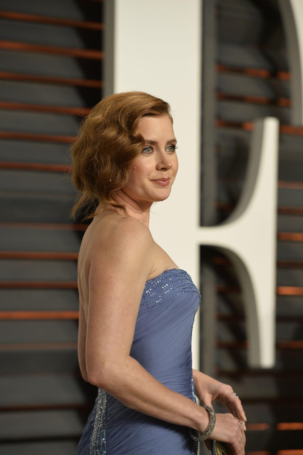 Amy Adams - 2015 Vanity Fair Oscar Party in Hollywood Amy Adams Vanity Fair Photoshoot