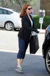 Amy Adams Street Style - Out in Beverly Hills, February 2015