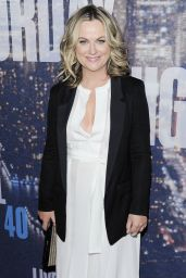 Amy Poehler - SNL 40th Anniversary Celebration At Rockefeller Plaza In New York City