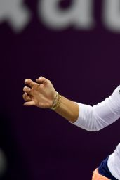 Angelique Kerber - 2015 WTA Qatar Open in Doha - 1st round