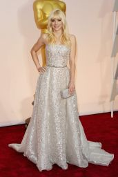 Anna Faris – 2015 Oscars Red Carpet in Hollywood