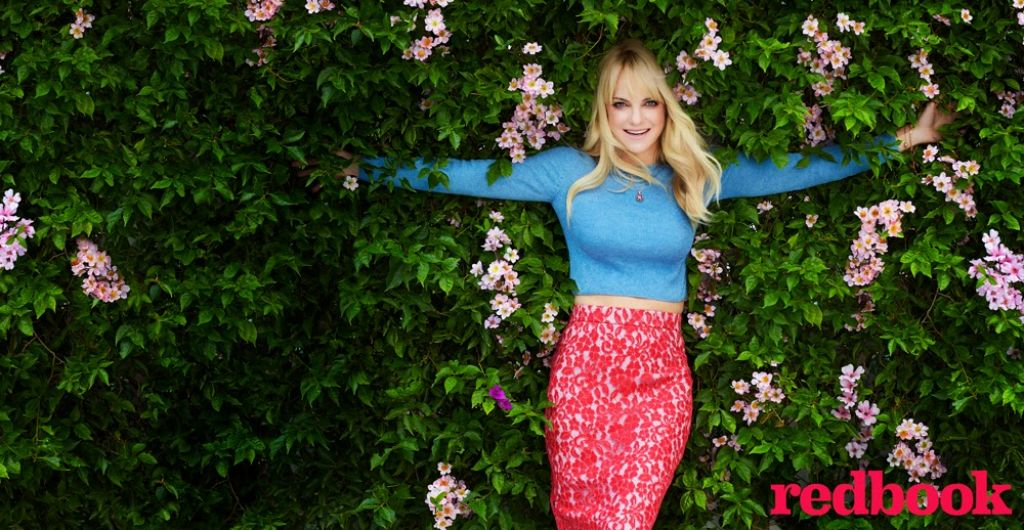 Anna Faris - Redbook Magazine March 2015 Issue