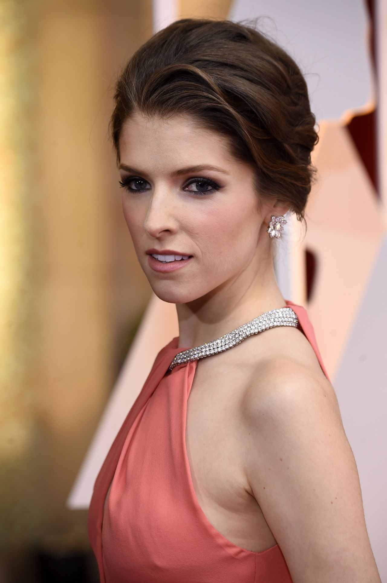 Anna Kendrick 2015 Academy Awards In Hollywood