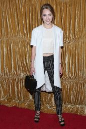 AnnaSophia Robb – alice + olivia by Stacey Bendet Fashion Show in New York City, Feb. 2015