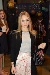 AnnaSophia Robb - Rachel Antonoff Fashion show in New York, Feb. 2015