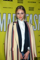 AnnaSophia Robb - VFILES MADE FASHION show during MBFW Fall 2015 in New York City