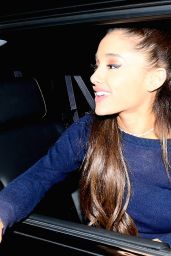 Ariana Grande - Out in New York, February 2015