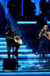 Ariana Grande - Stevie Wonder Songs In The Key Of Life All-Star GRAMMY 2015 Salute in Los Angeles