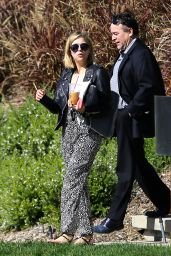 Ashley Benson - Checking Out a home for Sale in Los Angeles, Feb. 2015