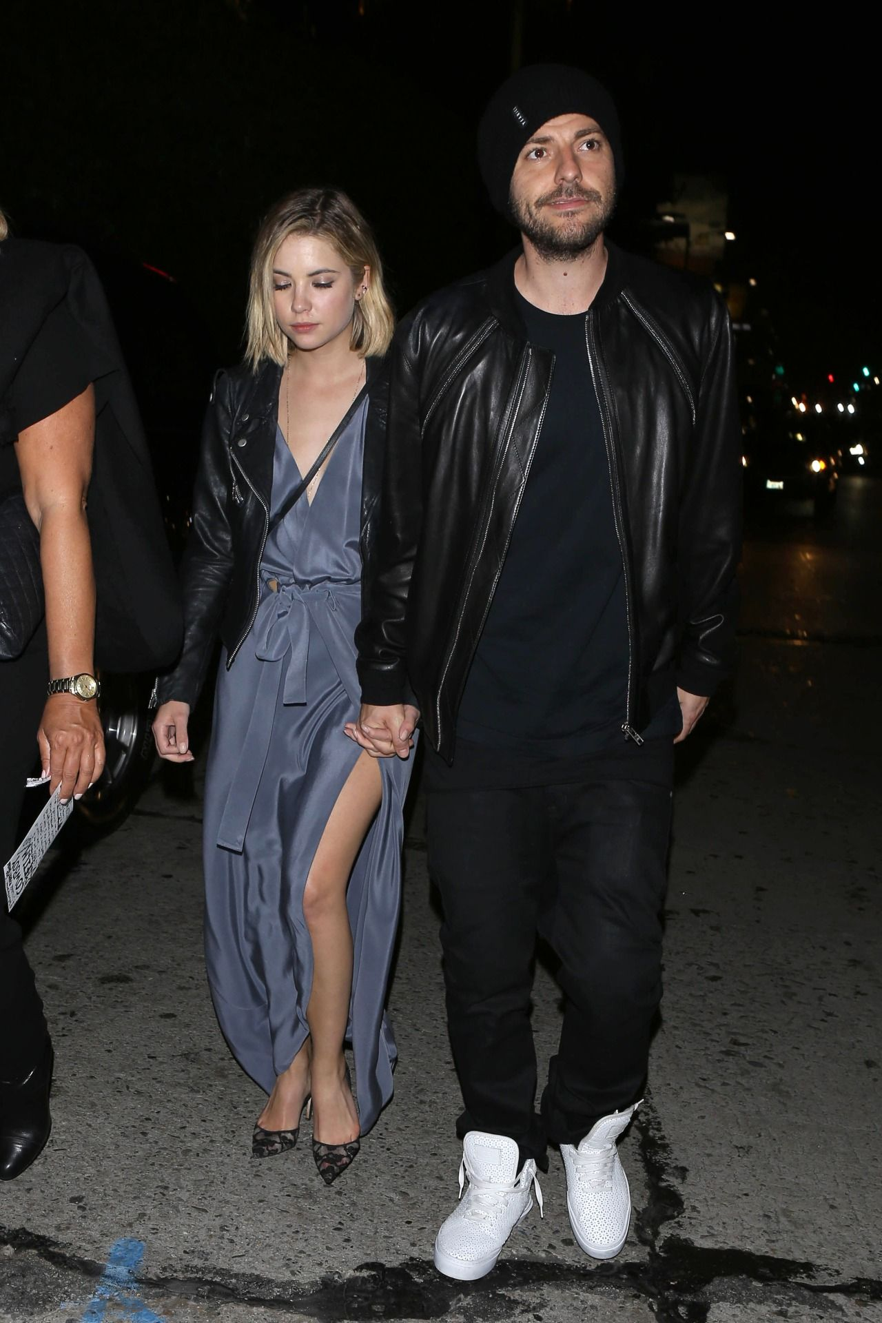 Ashley Benson Night Out Style - at Chateau Marmont, in West Hollywood, February 2015