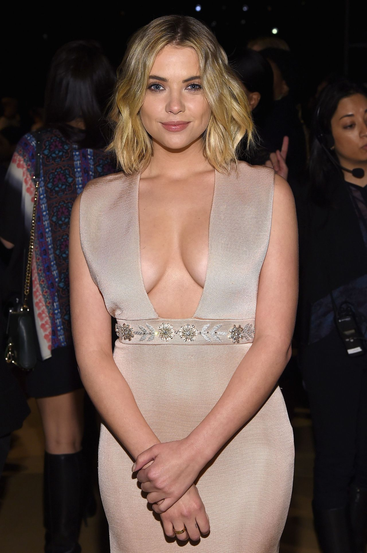 Ashley Benson - Reem Acra Fashion Show in New York City, Feb. 2015