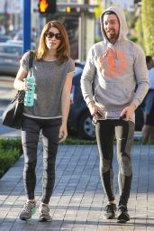 Ashley Greene Booty in Tights - Out in West Hollywood, February 2015