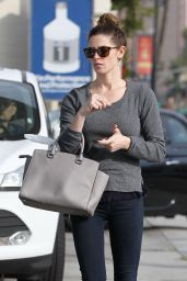 Ashley Greene - Getting Gas in Los Angeles, Feb. 2015