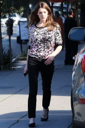 Ashley Greene - Out in West Hollywood, February 2015