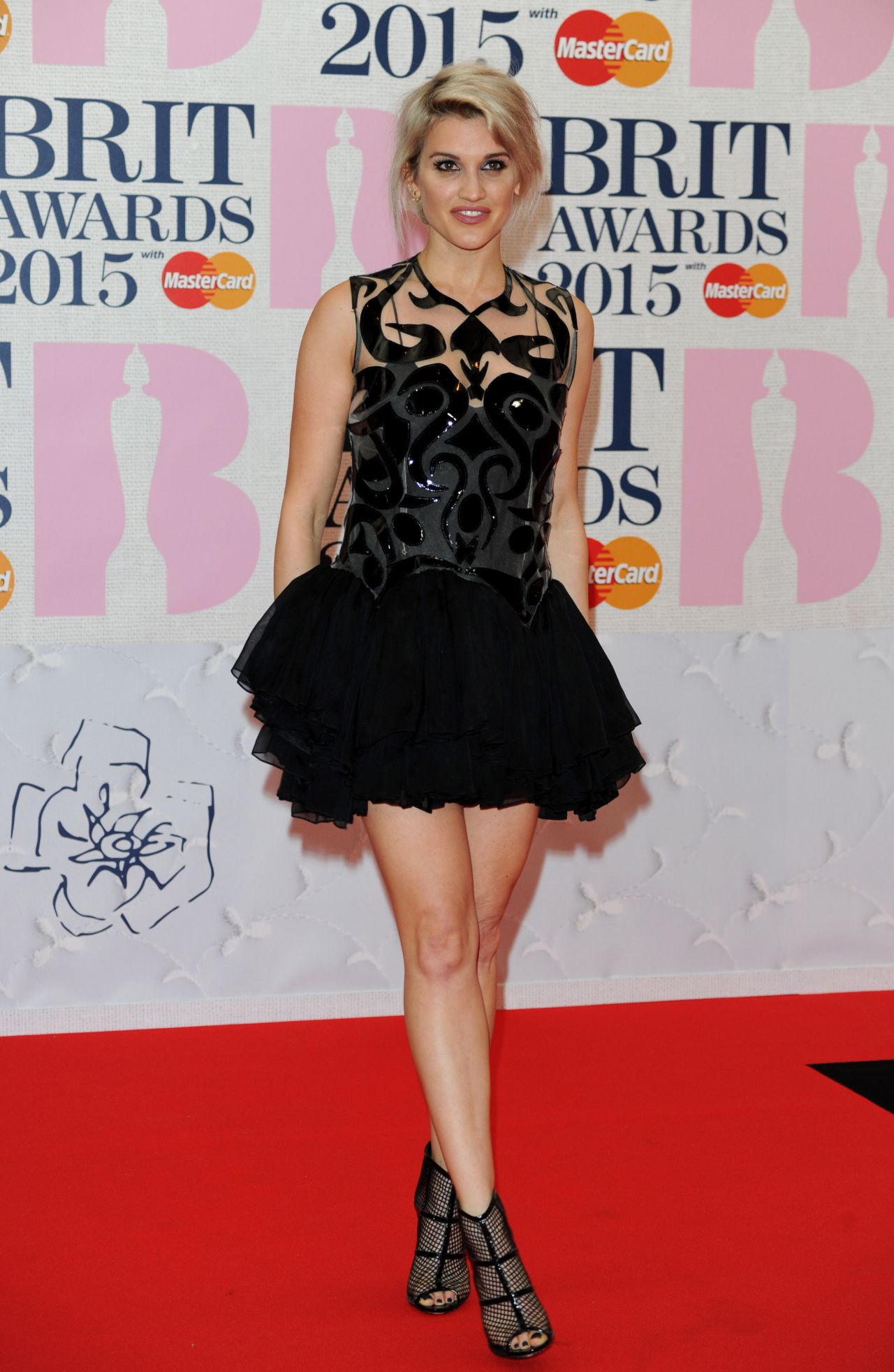 Ashley Roberts – 2015 BRIT Awards in London