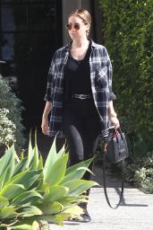 Ashley Tisdale Casual Style - Out in Los Angeles, February 2015