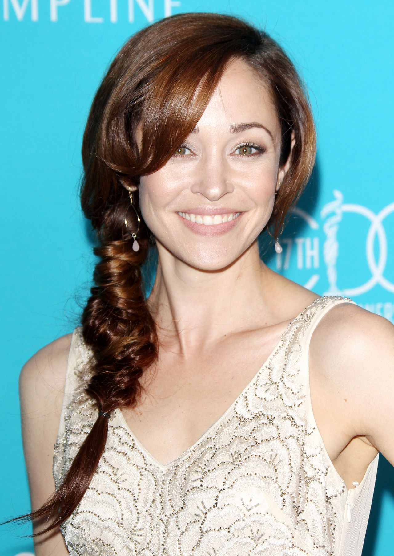 Autumn Reeser - 2015 Costume Designers Guild Awards in - Autumn Hairstyles