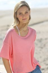 Bar Refaeli Photoshoot for HOODIES Summer 2015 Collection