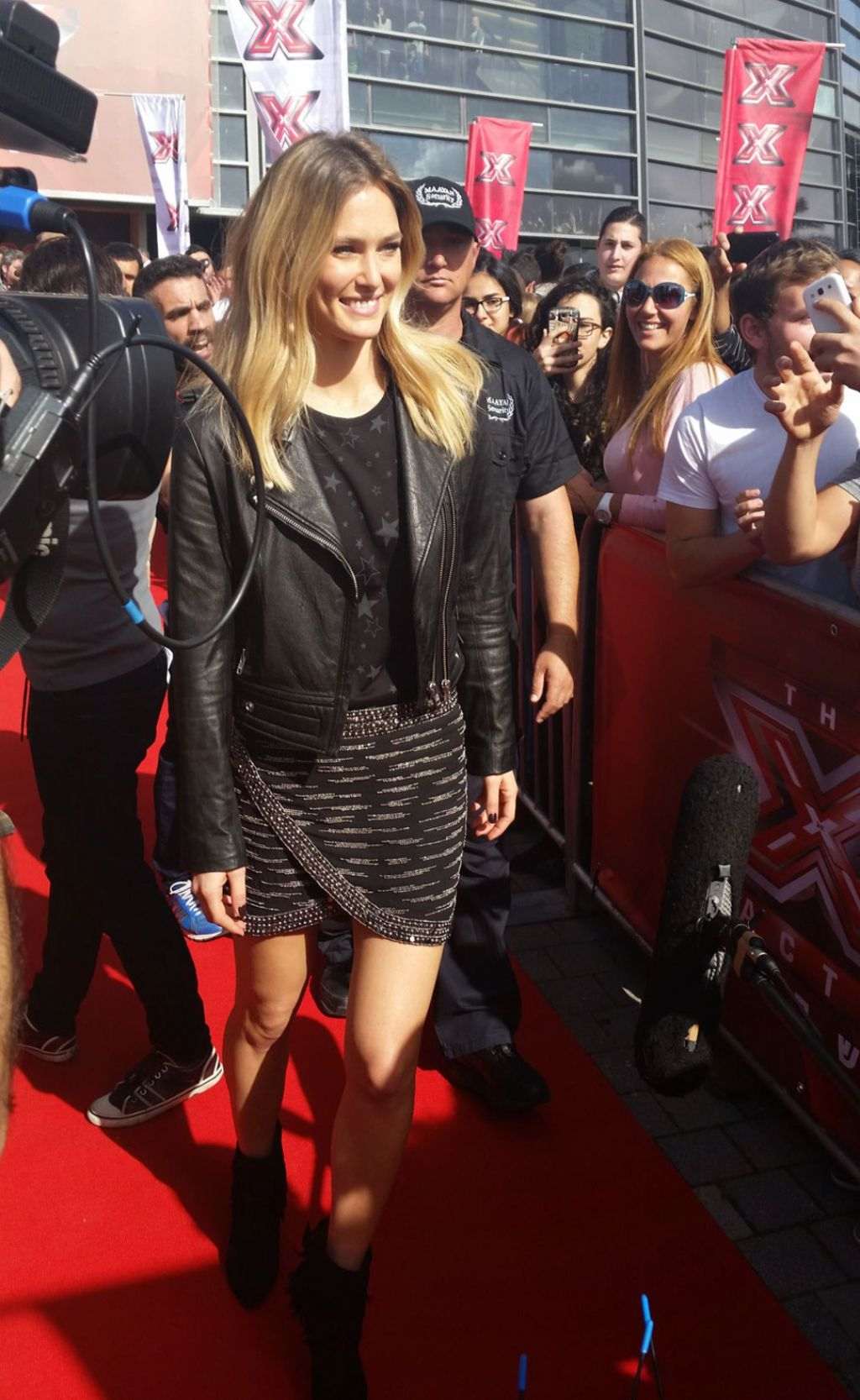 Bar Refaeli - The X Factor Israel Audition at Menora Mivtachim Arena in Tel Aviv, February 2015