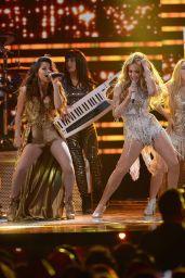 Becky G Performs at 2015 Premios Lo Nuestros Awards in Miami