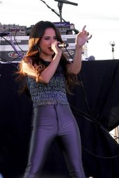 Becky G Performs at Family Gras 2015 in Metairie