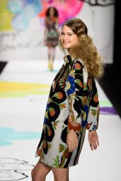 Behati Prinsloo - Desigual Show During Mercedes-Benz Fashion Week in New York, Feb. 2015