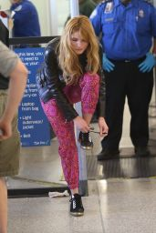 Bella Thorne - at LAX Airport, February 2015