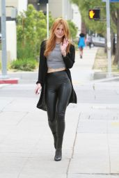 Bella Thorne - Headed to Milk Studios for a Photoshoot - Hollywood, February 2015