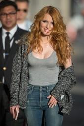Bella Thorne Street Style – Arriving at Jimmy Kimmel Live, February 2015