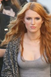 Bella Thorne Street Style - Arriving at Jimmy Kimmel Live, February 2015