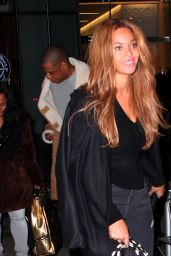 Beyonce - Out in New York City, February 2015
