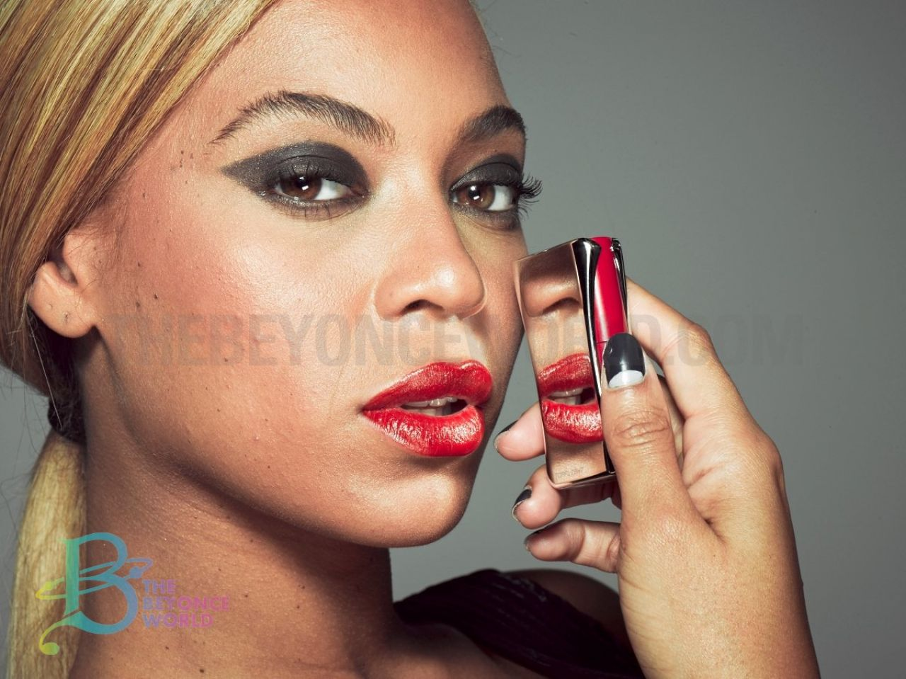 Beyonce unretouched leaked pics of beyonc s 2013 l oreal ad campaign - Photo de maquillage ...