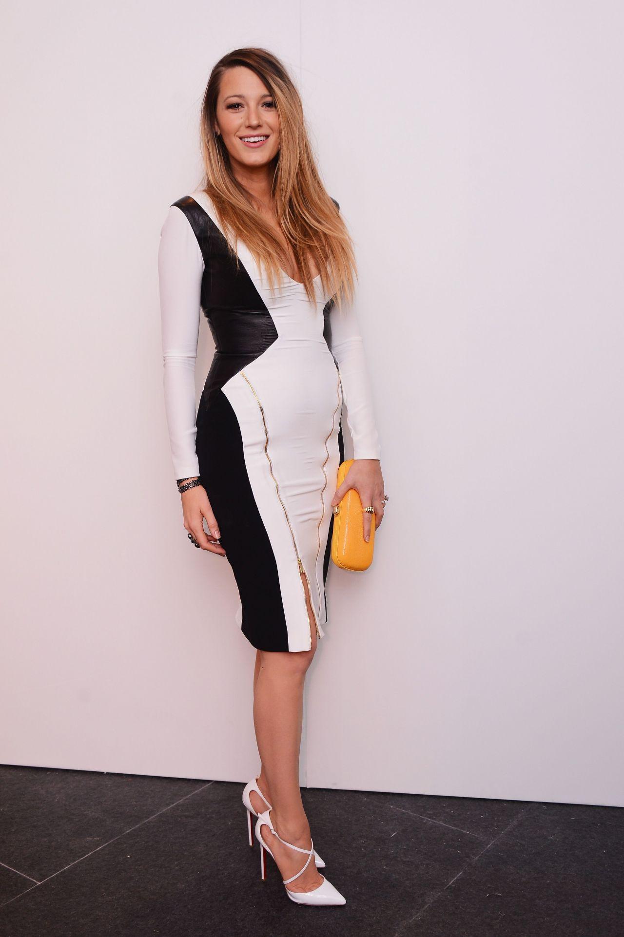 Blake Lively - Gabriela Cadena Fall/Winter 2015 Fashion ...