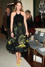 Blake Lively - Marchesa Fashion Show in New York, February 2015