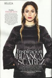Blanca Suarez - Glamour Magazine (Spain) January 2015 Issue