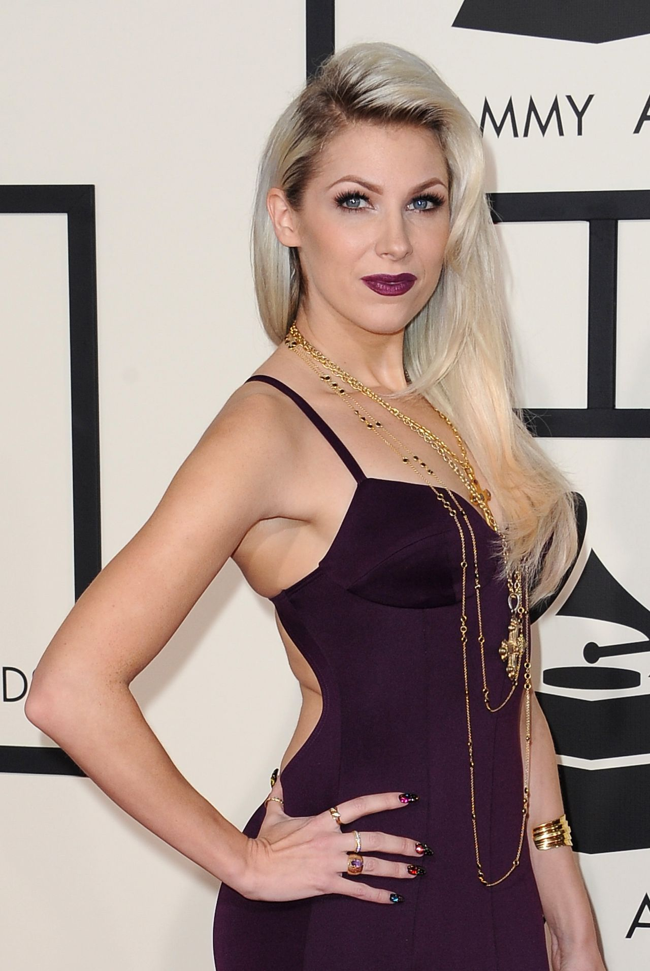 Bonnie Mckee 2015 Grammy Awards In Los Angeles