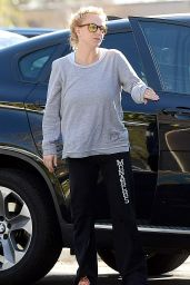 Britney Spears - Leaving a Gym in Calabasas, February 2015