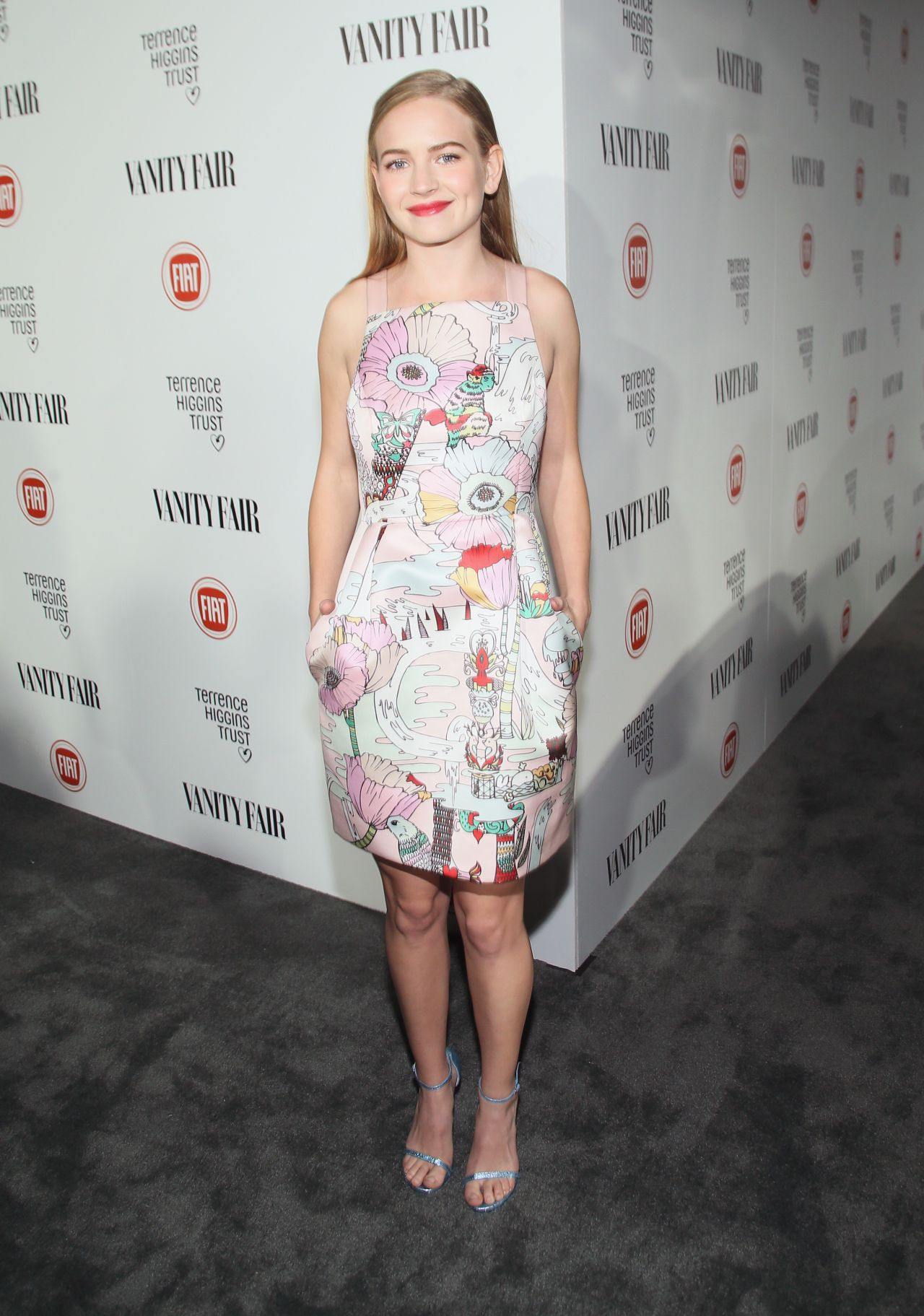 Britt Robertson Vanity Fair And Fiat Celebration Of