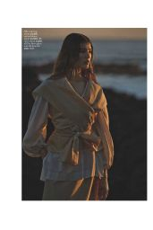 Brittany Burke - Marie Claire Magazine (UK) March 2015 Issue