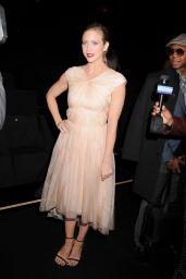 Brittany Snow - Monique Lhuillier Fashion Show in New York City, Feb. 2015
