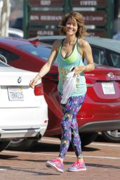 Brooke Burke - Leaving the Gym in Malibu, February 2015